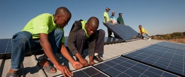 Solar installation