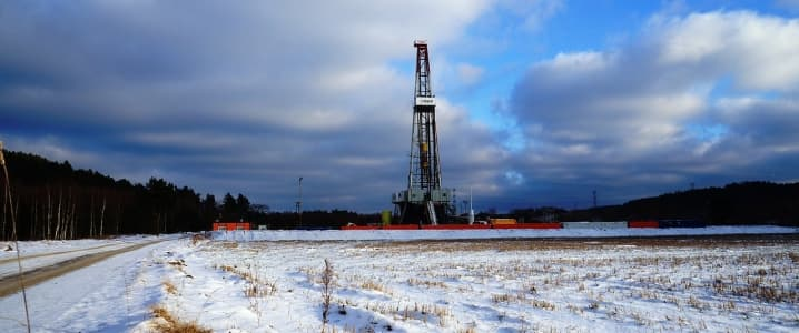 Shale gas well