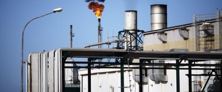 Libya oil field