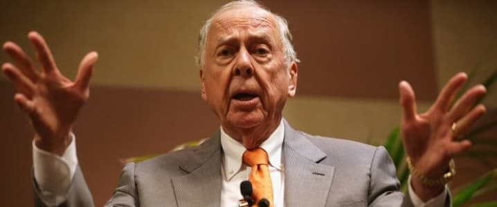 T Boone Pickens