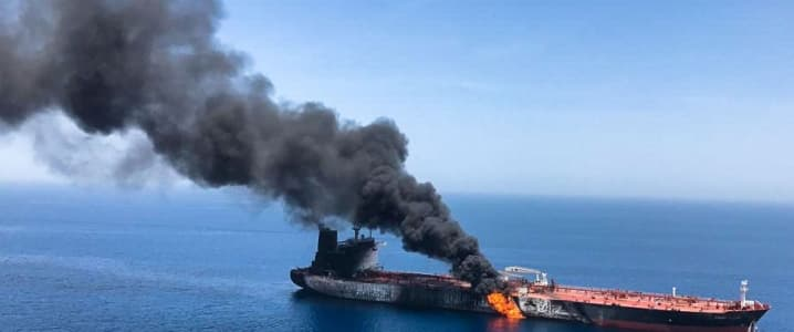 Oil tanker attack
