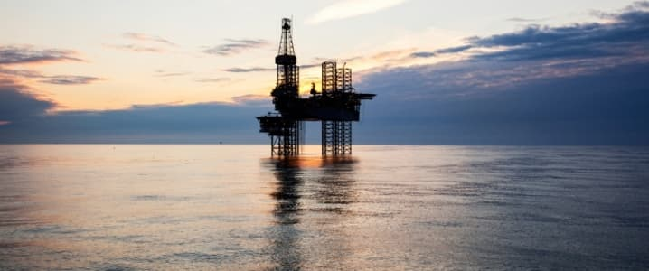 offshore rig KUFPEC