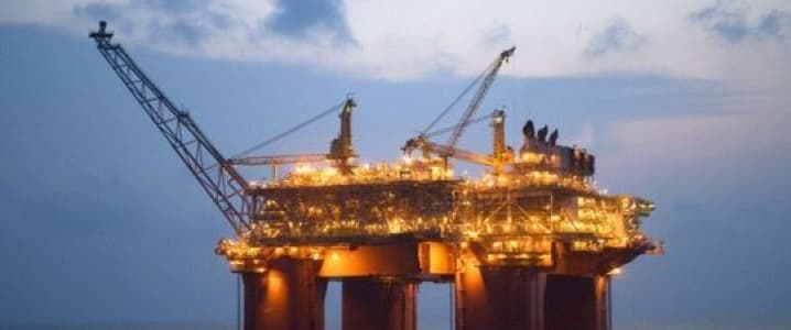 Offshore platform Brazil