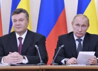 Putin Agrees Deal with Yanukovych to Provide Loans and Cheap Natural Gas