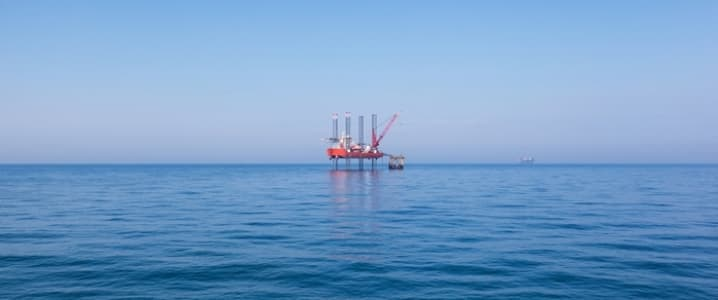 Mozambique Oil Platform