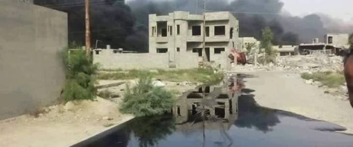 Oil Spill Qayarrah