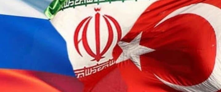 Turkey, Russia, Iran