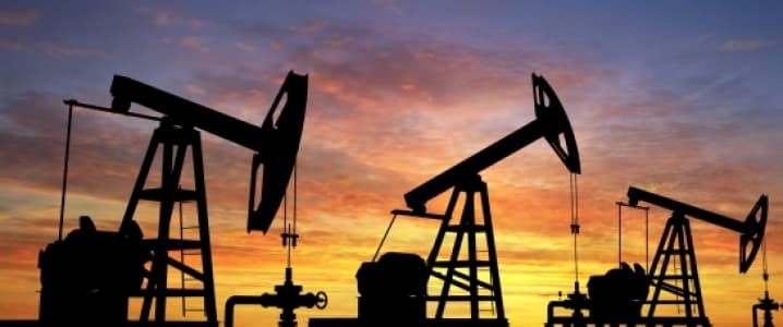 Sunset oil pumps