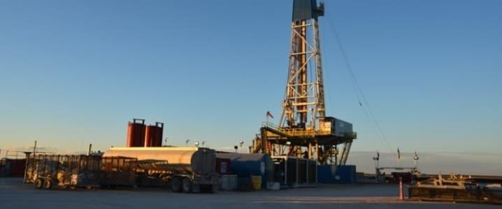 Permian oil rig