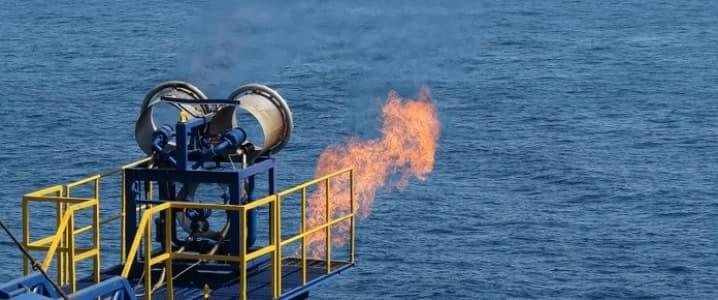 Japan gas flaring