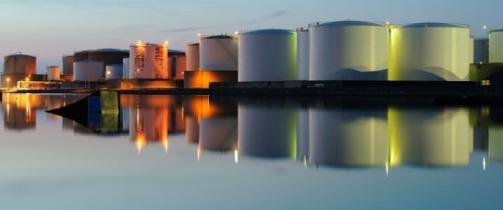Oil storage facilities