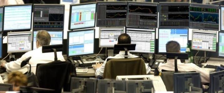 Forex trading desk