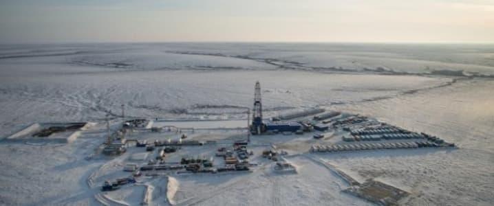 Gazprom Arctic field