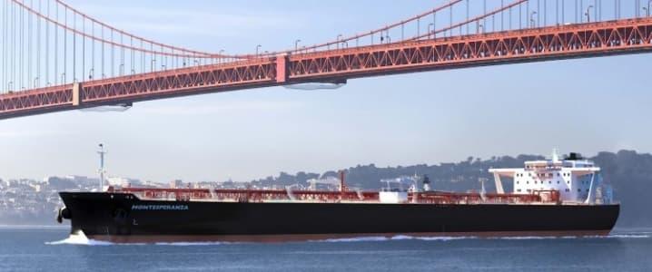 Suezmax tanker
