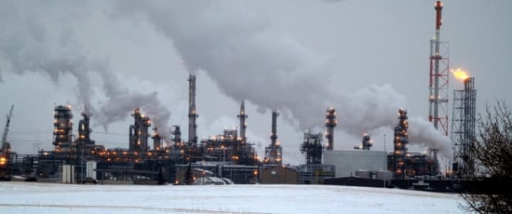 Alberta Oil Sands Factory