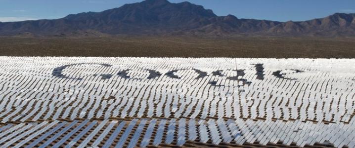Google solar plant