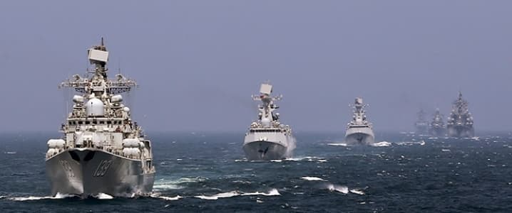 South China Sea Navy Exercise