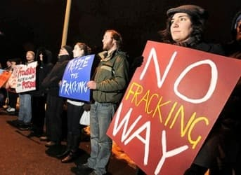 Canada, North American Energy Powerhouse, Now Faces Fracking Protests