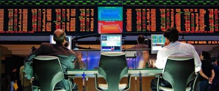 Oil Trading Floor