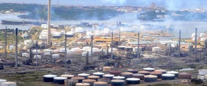 PDVSA refinery