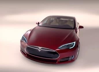 Tesla in Driverless Car Race
