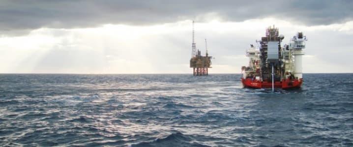 Rhum oil field