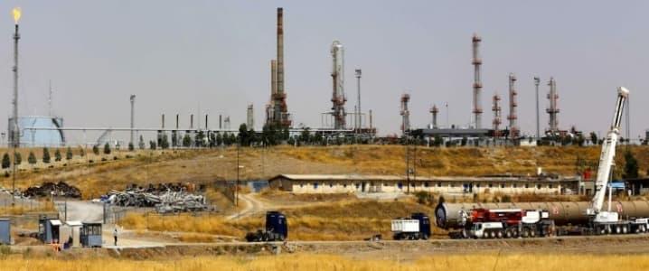 Erbil refinery