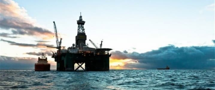 Falkland oil rig