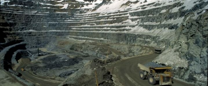 Codelco Andes Mine