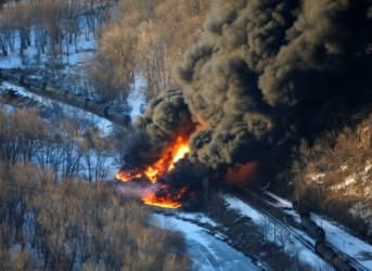 Two Trains Carrying Crude Derailed, Exploded, In The Past Week
