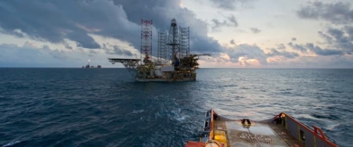 Offshore Rig Boat