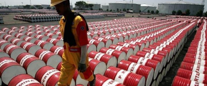 Barrels Oil