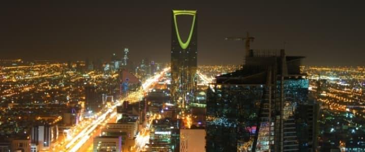 Riyahd by night