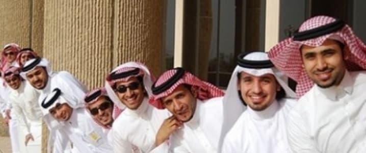Saudis having a lot of fun