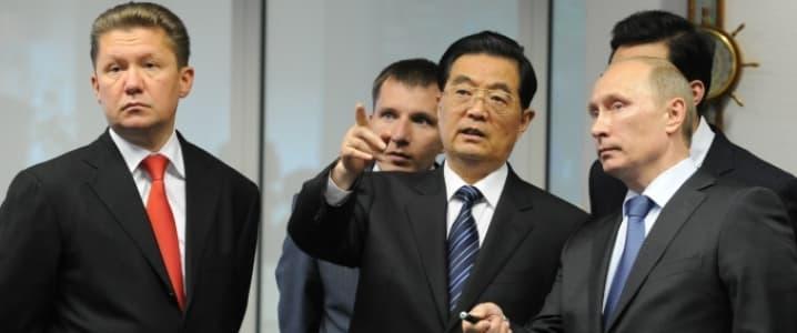 Russia China Gazprom