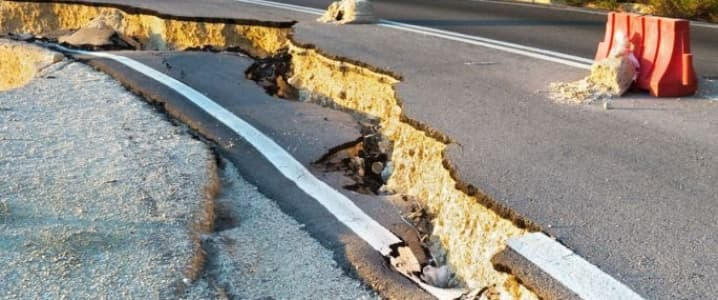 Oklahoma Earthquake Damage