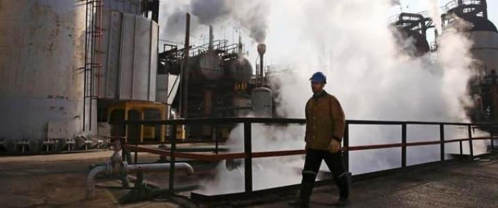 Iran oil plant