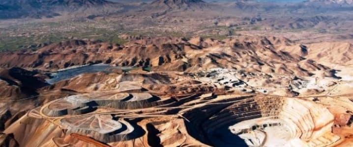Copper mine Peru