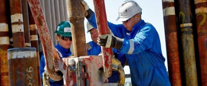 Chevron drillers