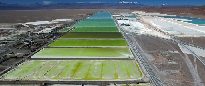 Lithium ponds