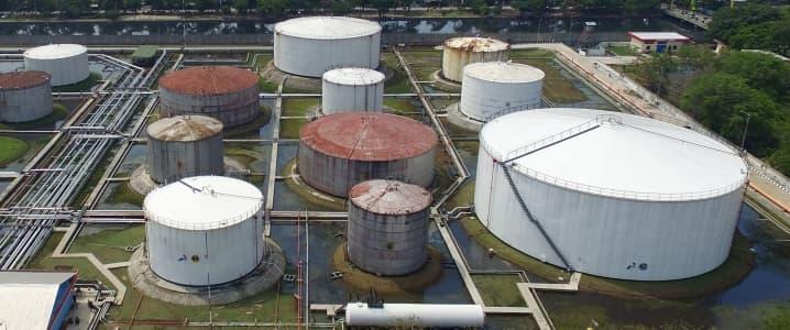 Asia oil storage