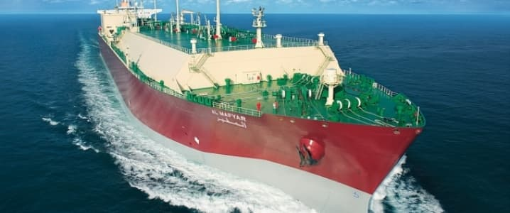 LNG tanker france