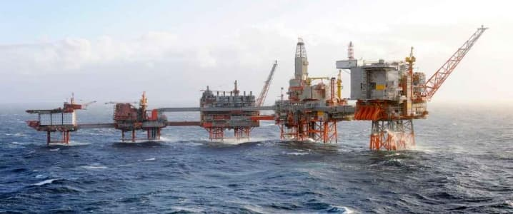 North Sea Rig