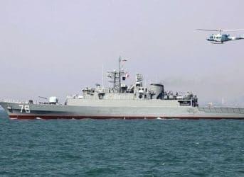 Iran Deploys New Warship in Caspian Sea