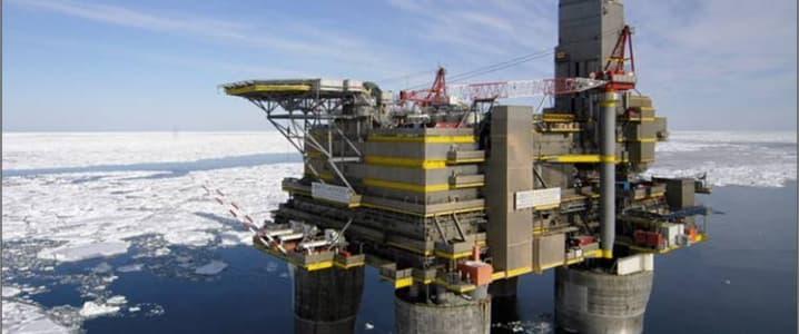 Offshore arctic rig