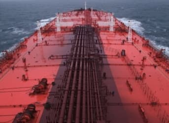 2-Mile Long Stretch Of Iraqi Oil Tankers Bound For U.S. Shores