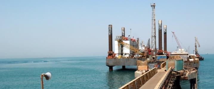 Oil export terminal Iraq