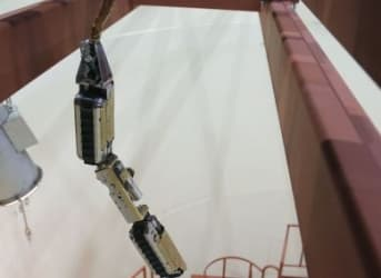 Shape Shifting Robot To Inspect Damaged Fukushima Reactor