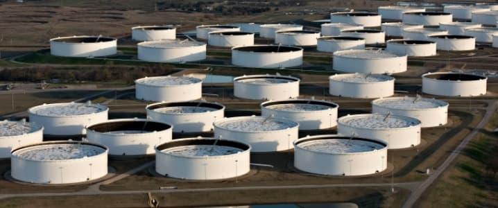 Cushing Oil Storage