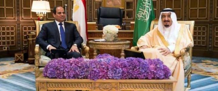 Saudi Egyptian meeting